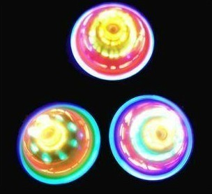 Colorful light emitting spinning top luminous spinning top flash spinning top spinning top - light-up toy