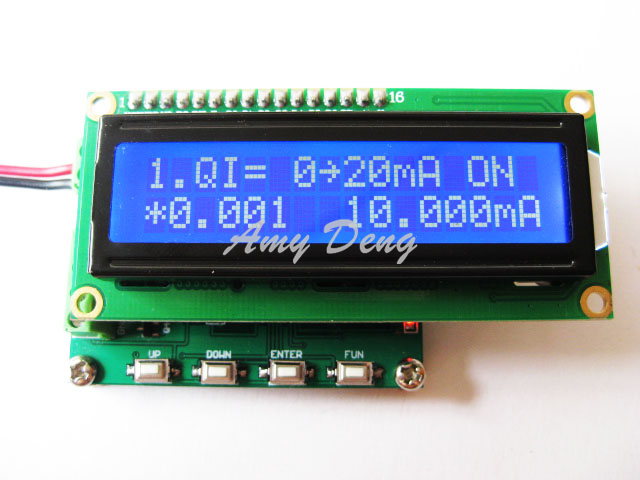 Двухсторонний выходной сигнал тока и напряжения 4-20 мА/0-10 в передатчик источника сигнала