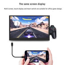 11.6 Inch LCD Dislpay Touch Screen 1920×1080 Portable HDMI Monitor for PS3 PS4 XBOXOne PC Laptop US Plug High Quality Display