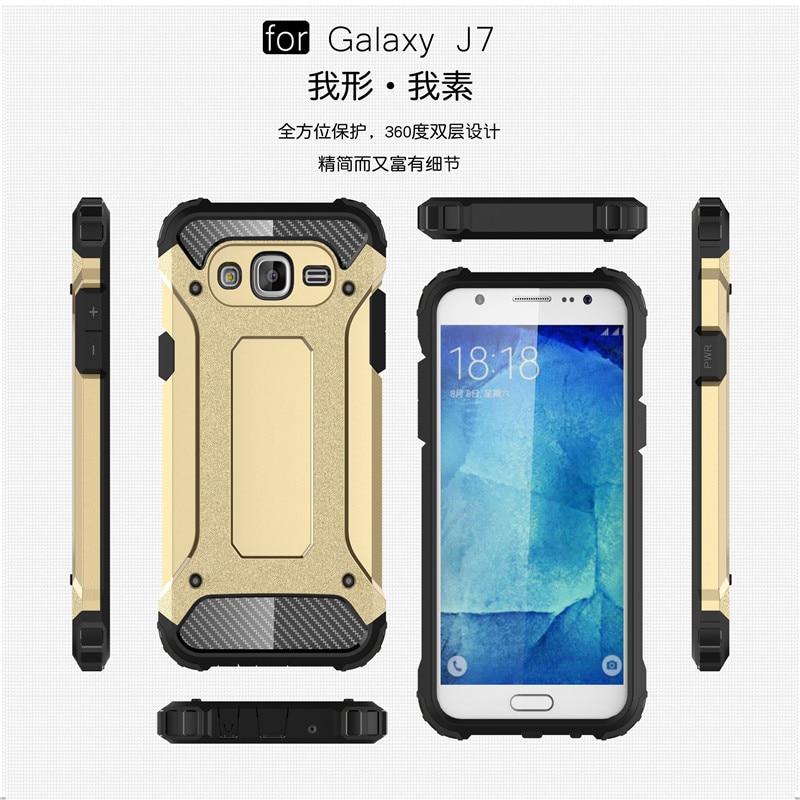 Hybrid carcasas para Cell Phone Back Cover For Samsung Galaxy J7 2016 - Ανταλλακτικά και αξεσουάρ κινητών τηλεφώνων - Φωτογραφία 1