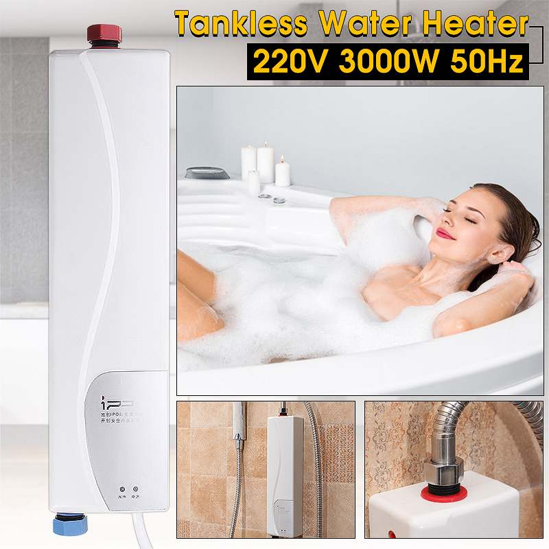 220V 3000W Instant Electric Water Heater AU Plug Indoor Bathroom Tankless Household Practical Double Shell Water Heater220V 3000W Instant Electric Water Heater AU Plug Indoor Bathroom Tankless Household Practical Double Shell Water Heater