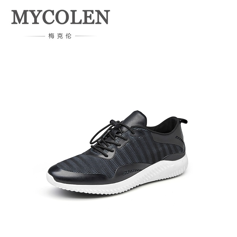 MYCOLEN 2018 New Breathable Summer Men Casual Shoes Elastic Band Male Fashion Footwear Walking Mens Shoes Tenis Masculinos women s shoes 2017 summer new fashion footwear women s air network flat shoes breathable comfortable casual shoes jdt103