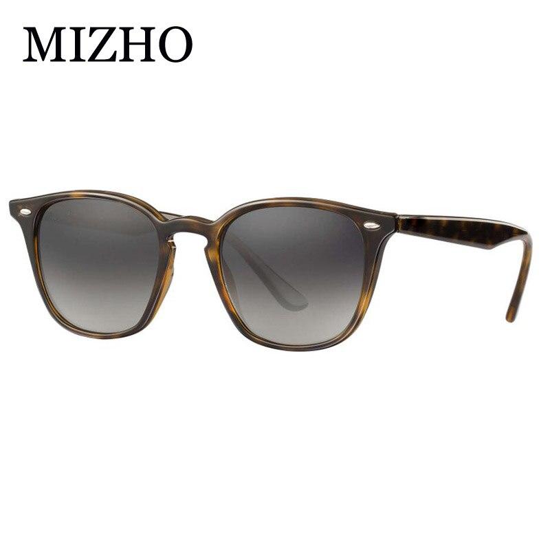 MIZHO 4258 plástico gafas cuadradas para hombre Unisex polarizadas azul Real Visual gafas Retro celebridad clásico gafas de mujer espejo 5 mW 5 KM localizador de fallas visuales equipo de prueba de Cable láser de fibra óptica