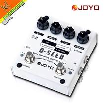 цена на JOYO D-SEED Delay Guitar Effect Pedal delay effects guitarra stompbox Dual Channel Digital Delay True Bypass free shipping