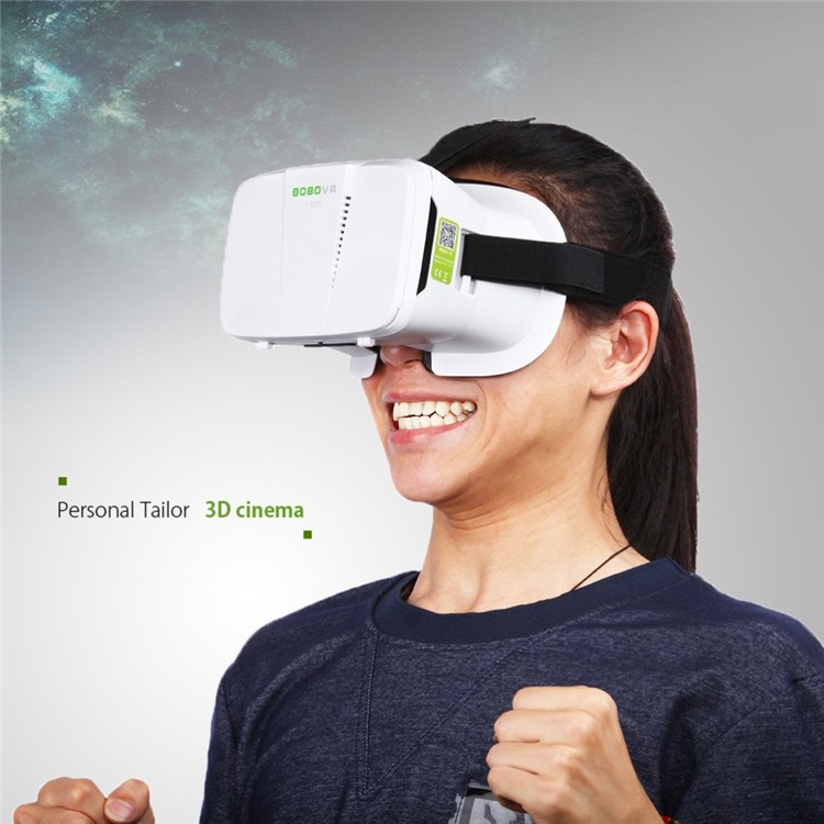 NEW BOBOVR Xiaozhai II Virtual Reality 3D Glasses VR Box Google Cardboard Oculus Rift for 4.0~6 Smartphone + Bluetooth Controller (4)