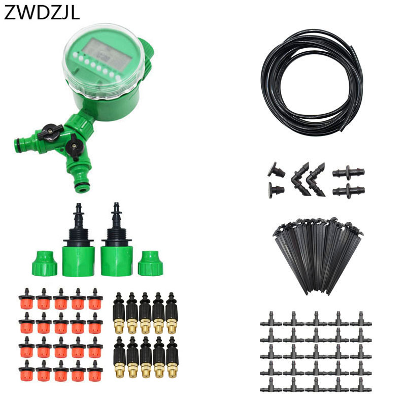 Automatic irrigation system DIY watering kit Drip irrigation system gardening tool kit automatic garden watering 1 setAutomatic irrigation system DIY watering kit Drip irrigation system gardening tool kit automatic garden watering 1 set