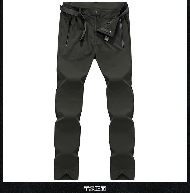 Men Long Pants Thin New 2018 Summer Militar Cargo Waterproof Comfortable Male Sports Climbing Hiking Riding Breathable Trousers