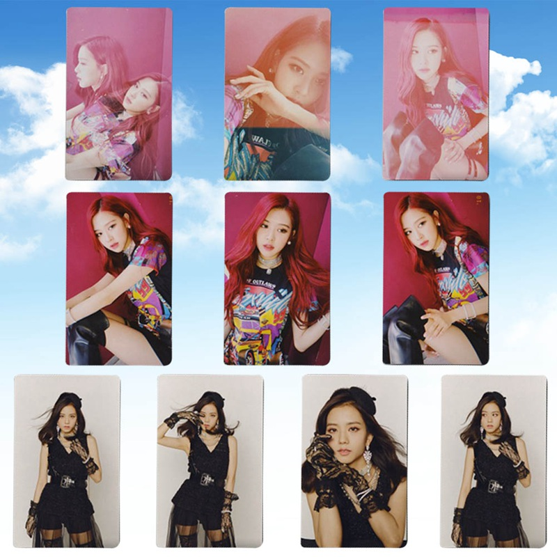 10Pcs Set Kpop Blackpink SQUARE UP Photo Card Photocards Poster Album Lomo Cards