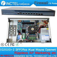 Wechat marketing wifi reclame routes ac beheer vpn 6 poorten firewall met G2020 processor