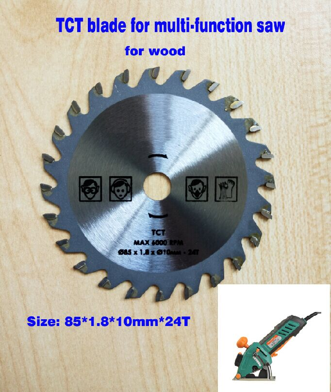 2pcs/lot  multi function mini saw blade 85mm 24T hole dia.10mm wood cutting round disc,  hard alloy TCT circular saw blade 10pcs lot 3 3 8 inch diamond blades for electric mini circular saw accessories for multi function mini saw inner dia 15mm