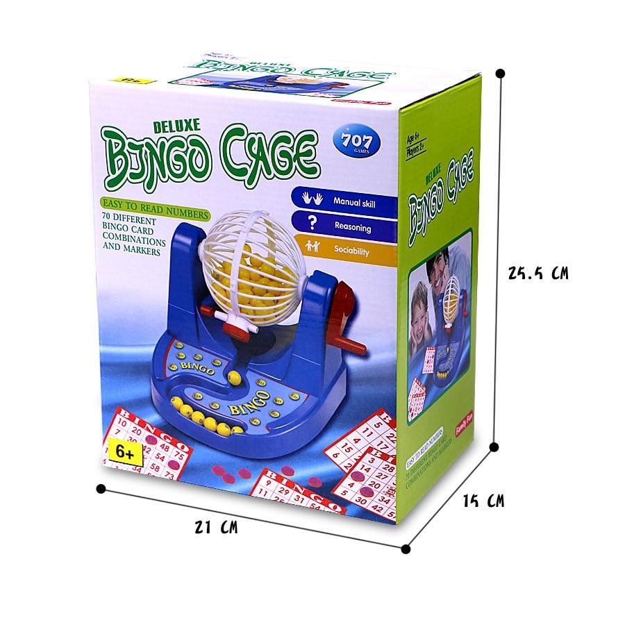 1 pcs Bingo Lottery Toys Childrens Interactive Games Ernie Mini Winning Desktop Toys Gift For Children Family Board Bingo Game