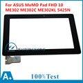 Для ASUS MeMO Pad FHD 10 ME302 ME302C ME302KL K005 K00A 5425N Планшетный ПК С Сенсорным Экраном Дигитайзер Стеклянная Панель