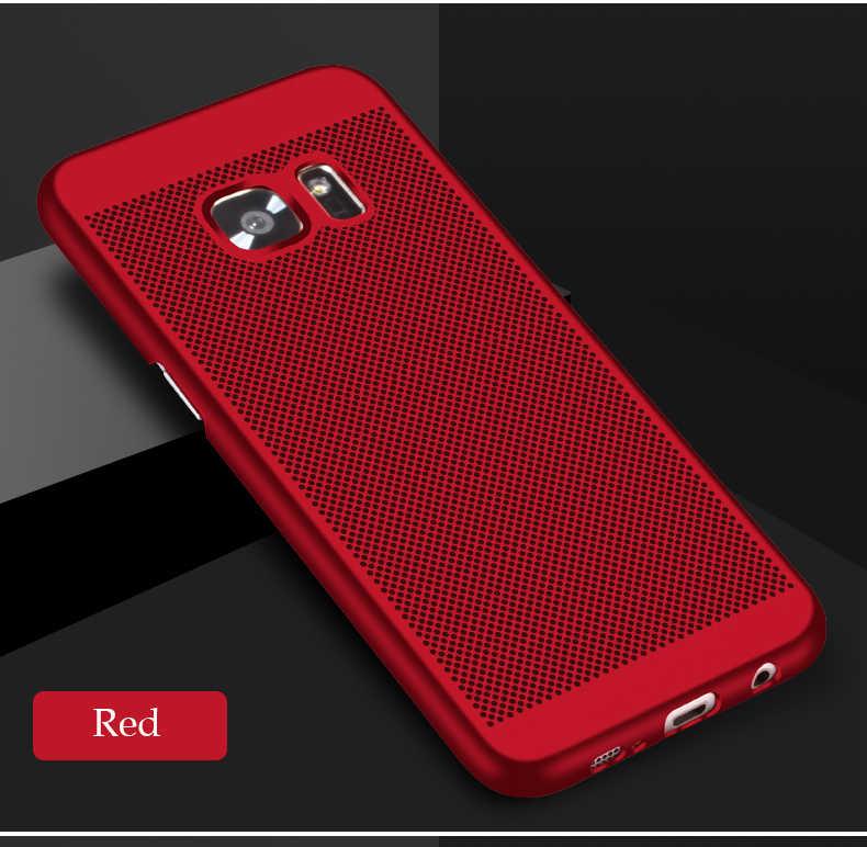 Pour Samsung Galaxy Note 3 4 5 8 étui de protection résistant à la chaleur sac de téléphone respirant Coque pour Samsung Note8 couverture Ultra mince