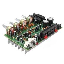 9 см х 13 см Электронных Плат 12 В 60 Вт Hi-Fi Стерео Цифровой Аудио Усилитель Мощности Объем Тембра Доска Комплект