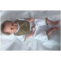 50 см/20 дюймов настоящий сенсорный мягкий винил Reborn Реалистичная кукла младенец высокого качества новорожденные младенцы Bathe Новая мода Кол