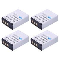 PowerTrust 4Pcs NP 85 NP85 NP 85 Rechargeable Batteries for Fujifilm S1 SL1000 SL240 SL245 SL260 SL280 SL300 SL305