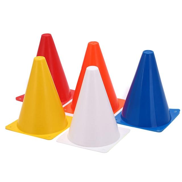 351033a41 Football Training Traffic Cones Agility Training Cones Traffic Markers 5  Colour Sports Football Drill 10pcs/lot
