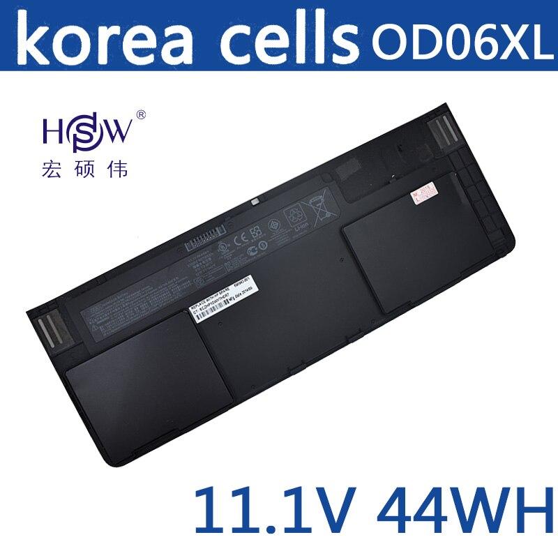 HSW batterie d'ordinateur portable pour HP OD06XL HSTNN-IB4F H6L25UT EliteBook Revolve batterie pour ordinateur portable 810 tablette H6L25AA 698943-001 batterie