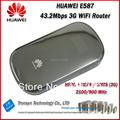 Cheapset Original Unlock HSPA+ 43.2Mbps HUAWEI E587 3G Pocket WiFi Router Support  HSPA+/HSPA 900/2100MHz
