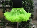 Holiday Free Shipping hot sell princess tutu pettiskirts girls chiffon fluffy pettiskirts for teens KP-PETS-045