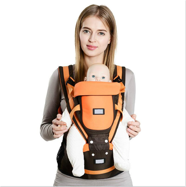 Carrier Multifunction Outdoor Kangaroo Baby Carrier Sling Backpack New Born Babies Carriage Sling Wrap Summer and Winter