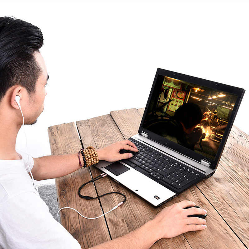 Vention 3,5 мм Aux аудио удлинитель Jack 3,5 женский двойной мужской наушник дополнительный разъем для наушников сплиттер для компьютера ноутбука iPhone