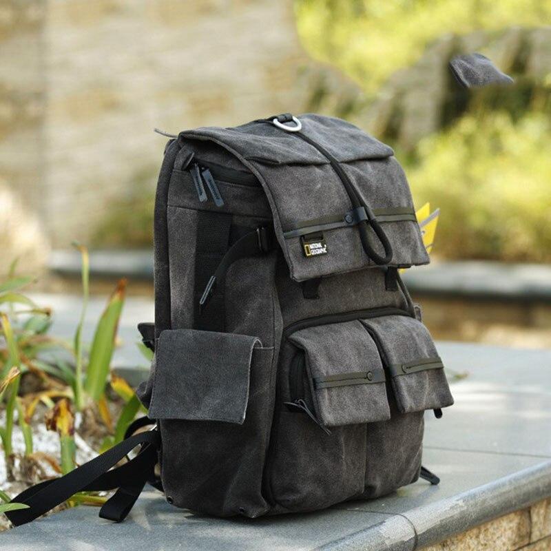 Сумка для камеры высокого качества NATIONAL GEOGRAPHIC NG W5070 рюкзак для камеры подлинный футляр для передвижного фотоаппарата может поставить ноутб...