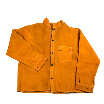 цена на Protective Apparel Insulated Garments ANTI-CUT Safety Clothing Protective Welding Jacket Work Pants Leather Welding Clothing
