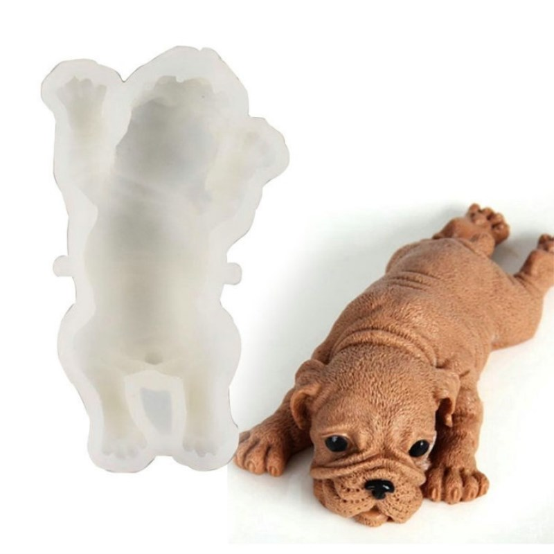 Silikon Form Mousse Kuchen 3D Mould Ice Cream Chilling Tool Nette Hund, AII-03