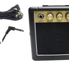 RMS-10 3 Вт мини-гитарный усилитель с 3 метровым гитарным кабелем портативный усилитель с 1 шт 3 м гитарный кабель