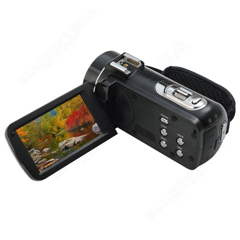 """ORDRO HDV-Z Microphone Camcorder 3.0"""" Touch Screen LCD 24MP 16X Zoom Digital Video Camera 1080P Full HD Wifi Remote Control 23"""