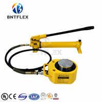 (50T reist 18mm) hydraulische jack + CP700 manuelle hydraulische pumpe