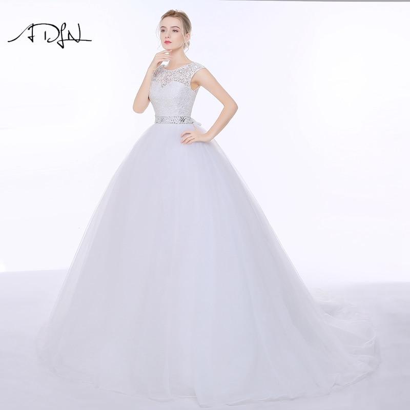 Vestido de Novia de Encaje Elegante ADLN Vestido de Noiva A-line - Vestidos de novia - foto 5