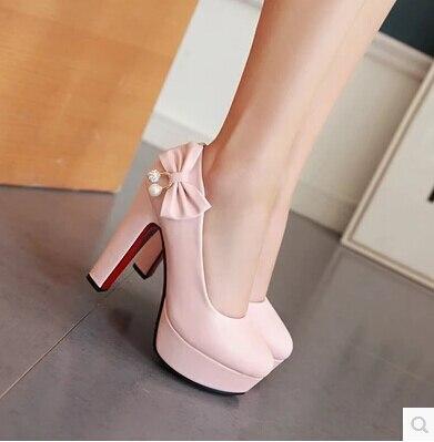 100% Wahr Kundenspezifische Große Größe Der Einzelnen Schuhe 44 45 46 47 Meter Große Größe High Heels Mit Hochhackigen Schuhe Mit Schmetterling Knoten Diamant