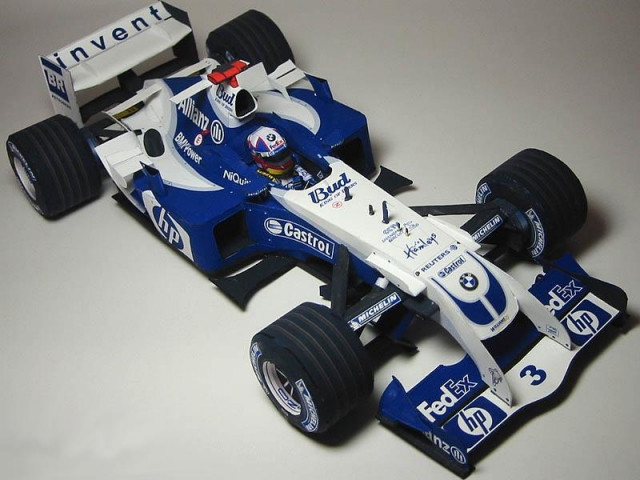 F1- Williams / Williams FW26 Paper Model