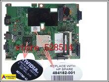 original CQ50 CQ60 G50 494182-001 laptop motherboard for hp 100% Test ok