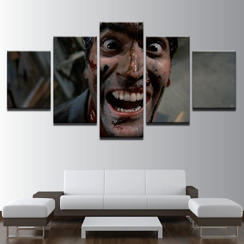 Leinwand Wandkunst HD Drucke Malereien 5 Stücke Horrible Film ...