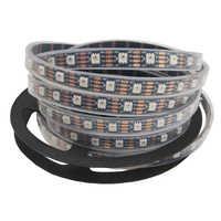 WS2815 DC12V (WS2812B/WS2813) светодиодный RGB ленточный светильник, индивидуально адресуемый светодиодный двойной сигнал 1 м/5 м 30/60/144 пикселей/м