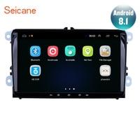Seicane 9 Android 8.1 Car GPS Radio Head Unit Multimedia Player For Seat Toledo Leon VW Golf Polo Passat Tiguan Sharan Caddy