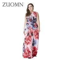 Estate abiti delle donne big size 7xl vestaglie delle donne retro chiffon lungo vestiti da estate femal abiti maxi vestidos vestiti delle signore y180