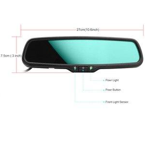 Image 4 - واضح عرض سيارة مرآة الرؤية الخلفية السيارات الإلكترونية يعتم مرآة داخلية قوس خاص لتويوتا هوندا i30 هيونداي VW بيجو 4
