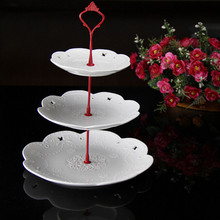 2 3 Tier Cake Plate Stand Handle Crown Fitting Metal Wedding Party Decor(China) & Buy cake stand fittings and get free shipping on AliExpress.com