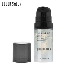 Color Salon Eye Shadow Base Primer 12ml Prolong Makeup Smudge-proof Stay Color-true Improve Color Saturation Natural Eyeshadow