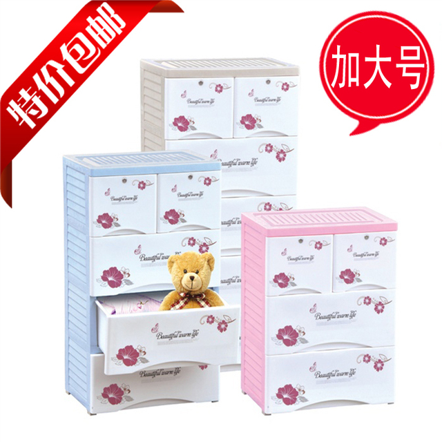 Finishing Plastic Storage Container Multi Lockable Drawers Baby Clothes  Baby Clothes Drawer Chest Of Drawers