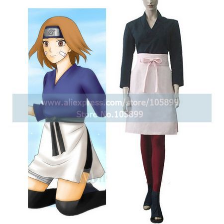 Naruto Shippuden Rin Cosplay Costume-in Anime Costumes from Novelty &  Special Use on Aliexpress.com | Alibaba Group