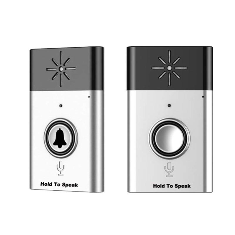 Intercom Voice Transmitter Doorbell 1 Transmitter + 1 Receiver 200mIntercom Voice Transmitter Doorbell 1 Transmitter + 1 Receiver 200m