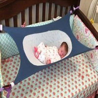Newborn Infant Bed Elastic Detachable Baby Cot Beds Portable Baby Crib Hammock Folding Toddler Safe Photography
