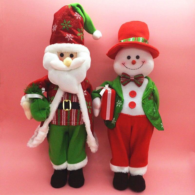 cm de dibujos animados de navidad para el hogar decoracion de navidad pap noel