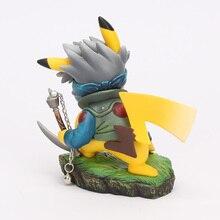 Pikachu Cos Hatake Kakashi Naruto Shippuden PVC Action Figure Toy