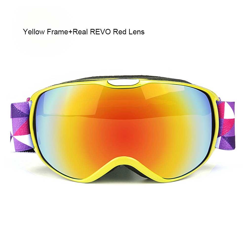 224dca9006 2019 OBAOLAY Snowboard Glasses UV400 Ski Goggles Anti Fog Skiing ...